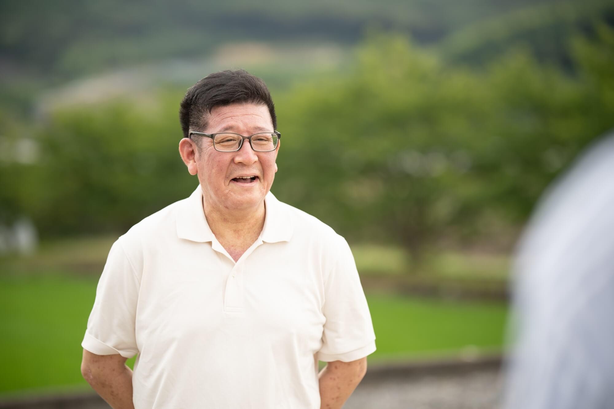 西海園代表・二瀬浩志さん