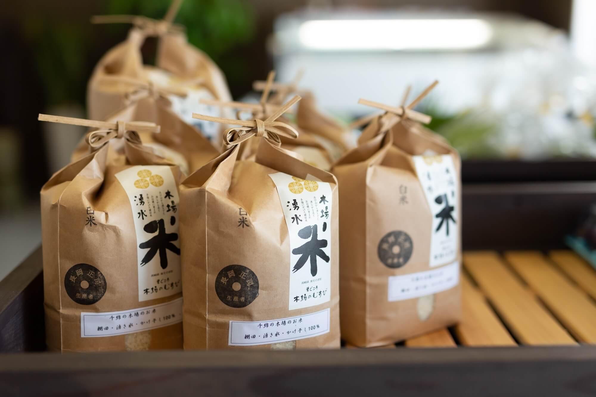 木場のむすび・商品の精米